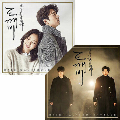 Dokebi/Goblin OST PACK1/PACK2 2017 Korea TVN Drama 2CD+PhotoBook K-POP SEALED