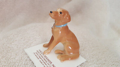 Hagen Renaker Dog Golden Lab Figurine Miniature Collect New Free Shipping 08881