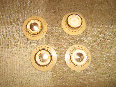 Astor radiogram knobs from 1959 Table stereo