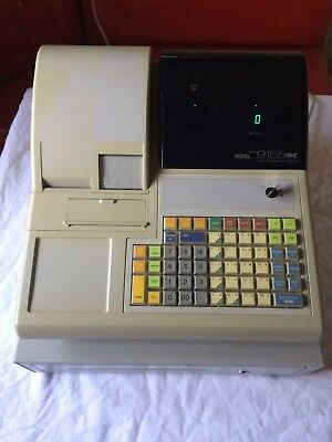 Royal Alpha Cash Register 9155sc with key