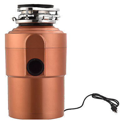 1.5HP Commercial Garbage Disposal Continuous Feed Food Kitchen Waste 3600 RPM