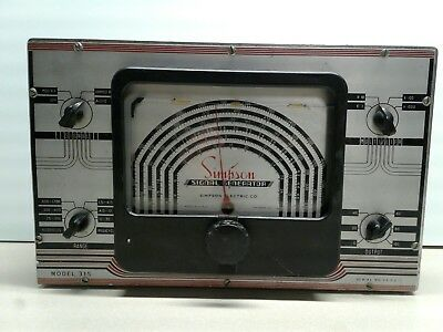 Simpson Signal Generator 315 *PARTS/REPAIR ONLY*