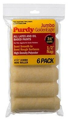 6PK 4.5x1/2 Roll Cover,No 140624623,  Purdy Corporation, 3PK