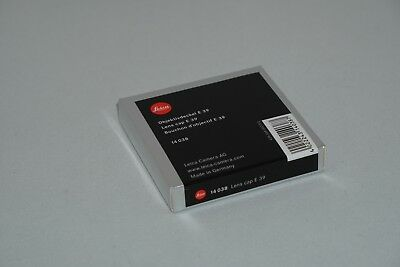 Leica # 14038 Original 39Mm Front Lens Cap 35Mm And 50Mm Summicron M Lens   New