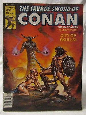 The Savage Sword of Conan #59 (Dec 1980, Marvel)