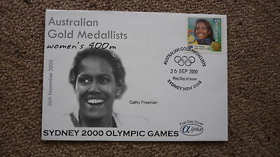 2000 Sydney Olympic Games Australian Gold Medal Win Cover, Cathy Freeman