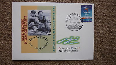 Sydney Olympic Series Test Event Cover, 1999 Pacific Rim Rowing Regatta