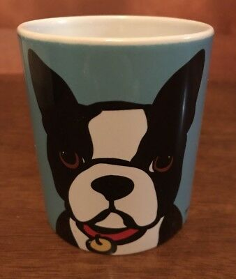 BOSTON TERRIER Coffee Mug Coffee Cup Marc Tetro Blue Sold Out Online