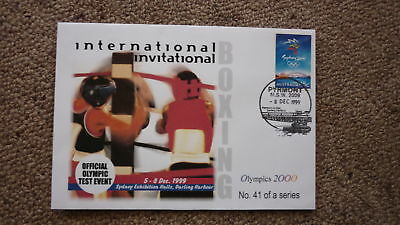 Sydney Olympic Series Test Event Cover, 1999 International Boxing Event