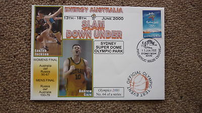Sydney Olympic Series Test Event Cover, 2000 Slam Down Under Basketball Event