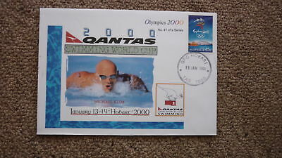 Sydney Olympic Series Test Event Cover, 2000 Qantas Swimming World Cup, Klim