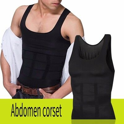 Slim Vest Weight Loss Shirt Compression Muscle Tank Underwear For Men Sexy Shape