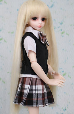 D10 1/4 Girl Super Dollfie Normal Skin Coordinate Model Fullset BJD Doll O