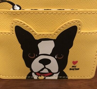 Boston Terrier Marc Tetro Card Holder Business Card Holder Credit Card New