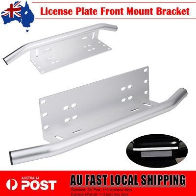 NUMBER PLATE HOLDER MOUNT BRACKET For CAR LED DRIVING LIGHT BAR SPOT LICENCE AU