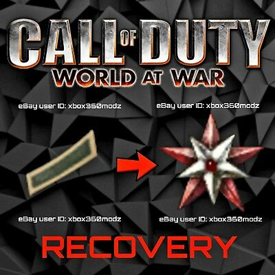 Call of Duty World At War WAW Recovery Mod   Max Prestige - Xbox 360 & Xbox One