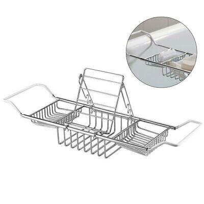 EXTENSION OVER BATH Tidy Tub Rack Shower Tray Chrome Wine Book ...