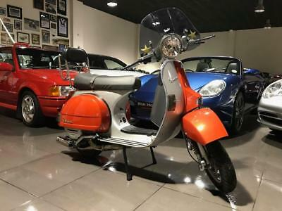 Piaggio Vespa PX200 with Polini 210cc Kit