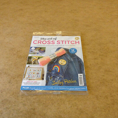 The Art Of Cross Stitch Issue 60 With 2 Skeins Of Thread 12 Stitching Charts