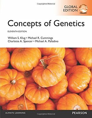 Concepts of Genetics by William S. Klug, Charlotte A. Spencer, Michael A. Pallad