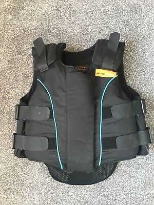 Childs Horse Riding Body Protector, Airowear- Size Y2 short