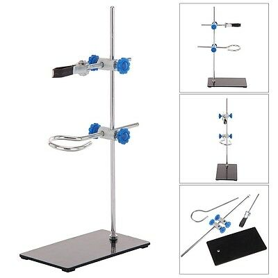 Mini Lab Bracket Retort Support Stands Platform Clamp Flask Alcohol Bottle Tube