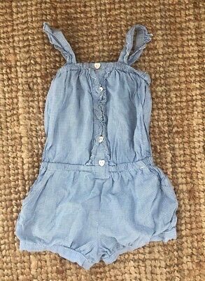 Girls Super Cute Play suit Jumpsuit Cotton On Kids Size 3