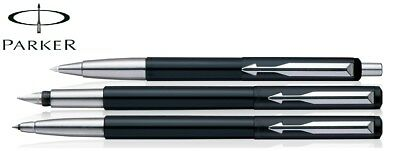 Parker Vector Standard Triple CT Pen (Black) Fountain + Rollerball + Ball Point