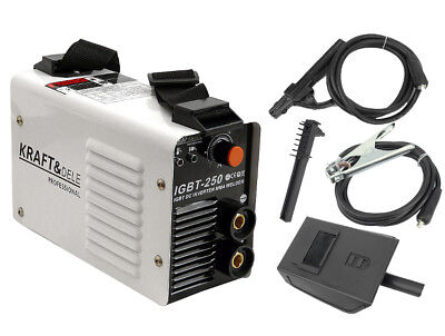 KRAFT&DELE KD843 250 AMP Welder Inverter IGBT Manual Arc Welding MMA