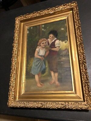 1800-1900s oil painting