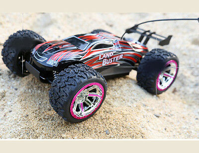 Rechargeable Red High-Speed Length 37.5CM Simulation Remote Control Car Toy  #
