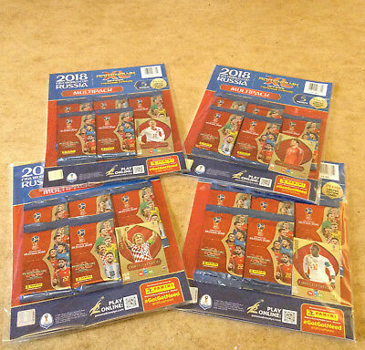 Panini Adrenalyn Xl Fifa World Cup Russia 2018 Trading Card Multi Pack Brand New