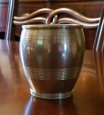"""RARE PEWTER SMITHSONIAN INSITUTION """"FORT McHENRY"""" CUP SI-8P BY STIEFF SILVER CO."""