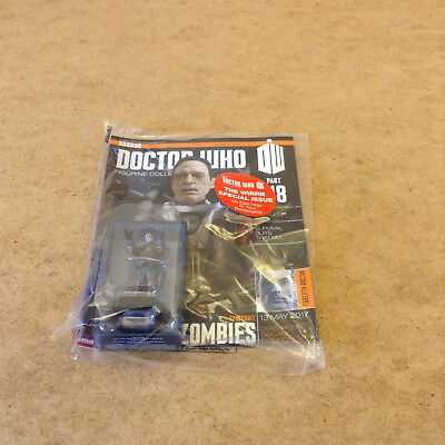 Bbc Doctor Who Figurine Collection Issue 118 Spacesuit Zombies Dr Who Model New