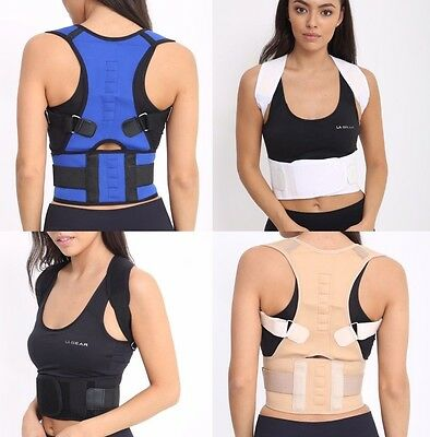 Posture Corrector Deluxe, Magnetic, Adjustable Straps, Neoprene, Four colours
