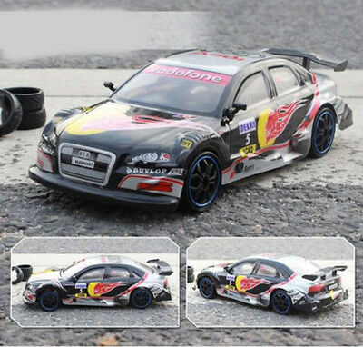 High-Speed Black Length 25CM Simulation Remote Control Car Rechargeable Toy  #