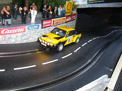Carrera Digital 132 Umbau Scalextric Opel Kadett Röhrl Rally Montecarlo Slot car