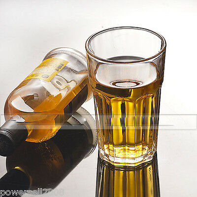 10X 420ML Contracted Lead-Free Crystal Glass Teacup Wine Glass Juice Cup NN