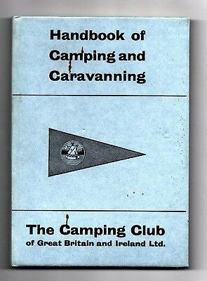 Handbook of Camping And Caravanning 1965 The Camping Club of Great Britain HB