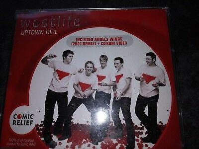 Westlife  Uptown Girl Comic Relief Cd