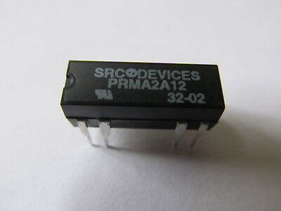PRMA2A12 Reed Relays 12V 500Ohm 0.5A DPST-NO (SRC Devices) (ALT. for HE722A1200)