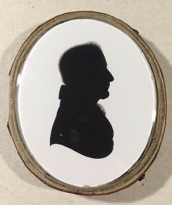 Silhouette of a Gentleman by John Field for Miers & Field - C1826