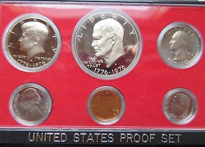 1975-S Proof Set United States US Mint Original Government Packaging