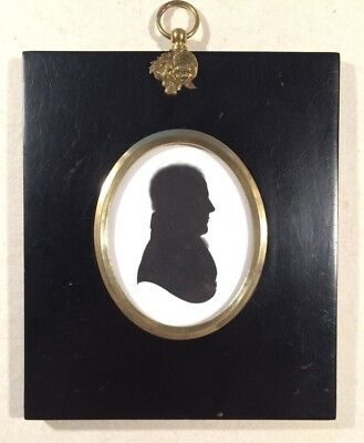 Framed Silhouette of a Gentleman by John Field for Miers & Field C1826.