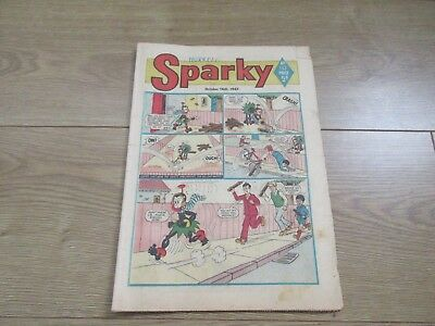 SPARKY COMIC No 143 - OCT 14TH 1967 - Good condition -Rare - like Beano/Dandy