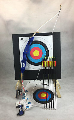 New Childs Kids Recurve Archery Bow and Arrows Set Package By ASD Archery