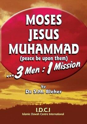 SPECIAL OFFER! 100 x Moses, Jesus, Muhammad (P): 3 Men: 1 Mission