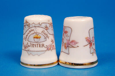 Royal Doulton Brambly Hedge 'Winter' China Thimble B/60