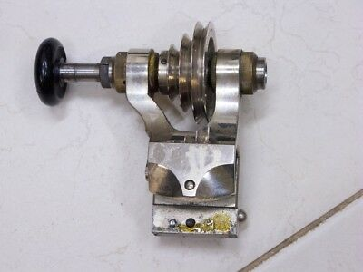 Poupée de tour horloger Wolf Jahn 8mm Watchmakers lathe headstock Spindelstock