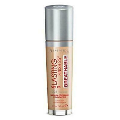 Rimmel London Lasting Finish 25hr Breathable Foundation - Choose Your Shade 30ml